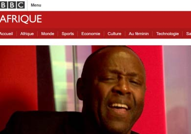 BBC Afrique and Jean-Paul Samputu