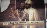 Award 2004 Most Promising African Male Artist Jean Paul Samputu